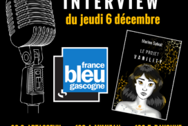 Interview Marion Salvat France Bleu gascogne 6 décembre 2018