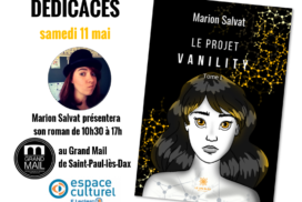 Dédicaces Grand Mail – 11 mai 2019