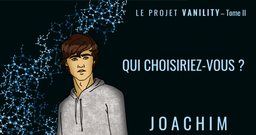 Personnages Le Projet Vanility tome 2Marion Salvat roman jeunesse science fiction young adult fantastique pouvoirs capacités maxine warnott lee prydington joachim gonzales